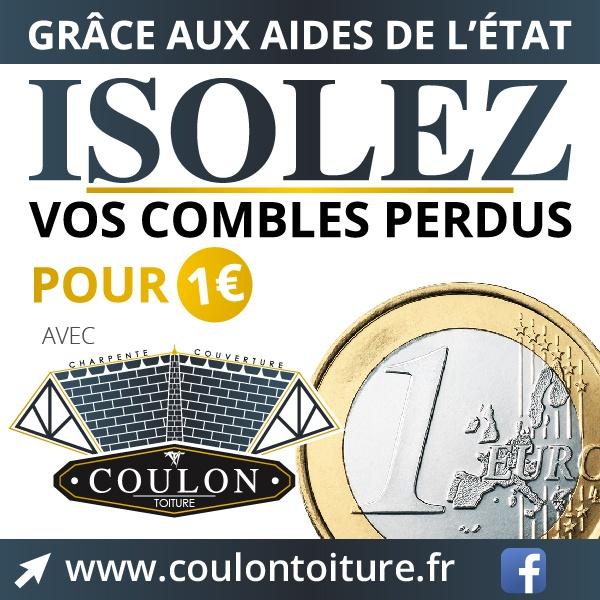 Isolation à 1€ avec Coulon Toiture